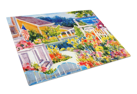 Buy this Seaside Beach Cottage  Glass Cutting Board Large