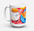 Buy this A Slice of Cantelope Dishwasher Safe Microwavable Ceramic Coffee Mug 15 ounce 6036CM15