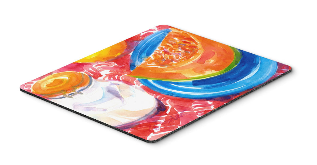 Buy this A Slice of Cantelope  Mouse pad, hot pad, or trivet