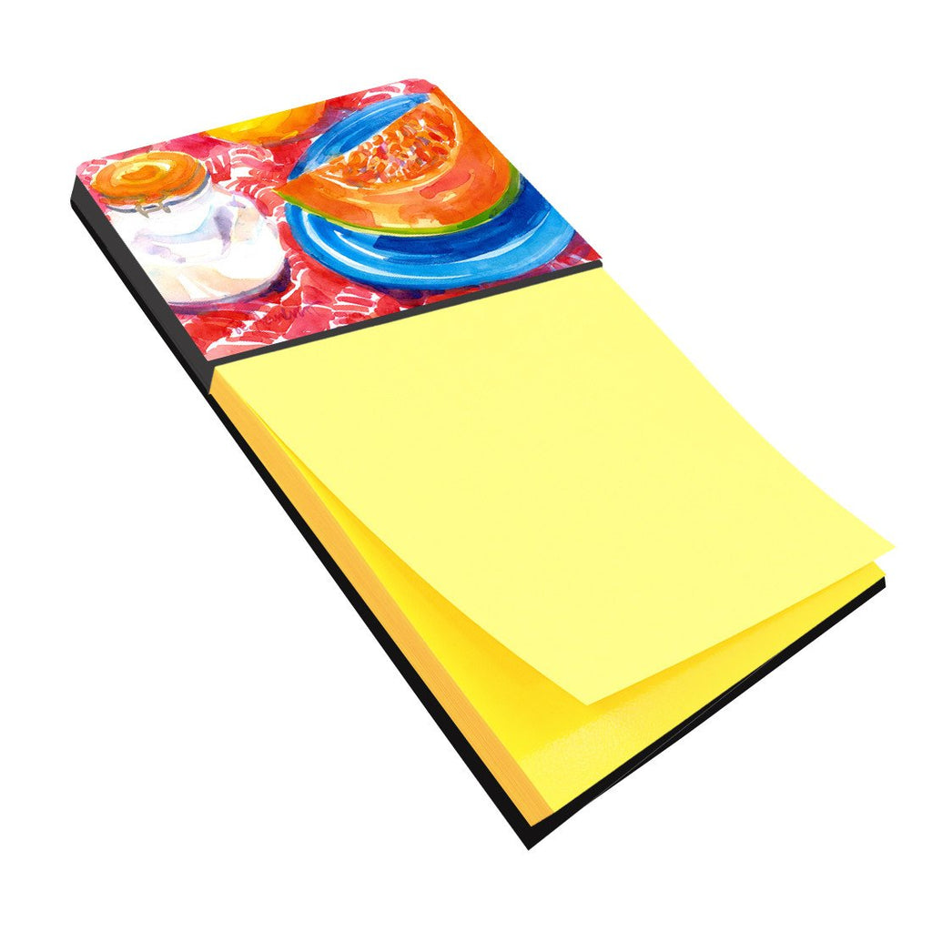 Buy this A Slice of Cantelope Refiillable Sticky Note Holder or Postit Note Dispenser 6036SN