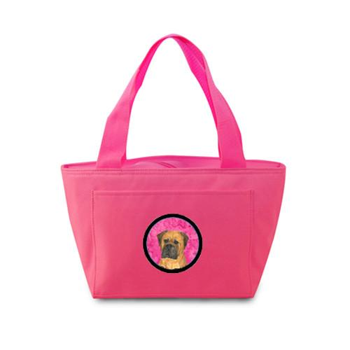 Pink Bullmastiff  Lunch Bag or Doggie Bag SS4793-PK by Caroline's Treasures