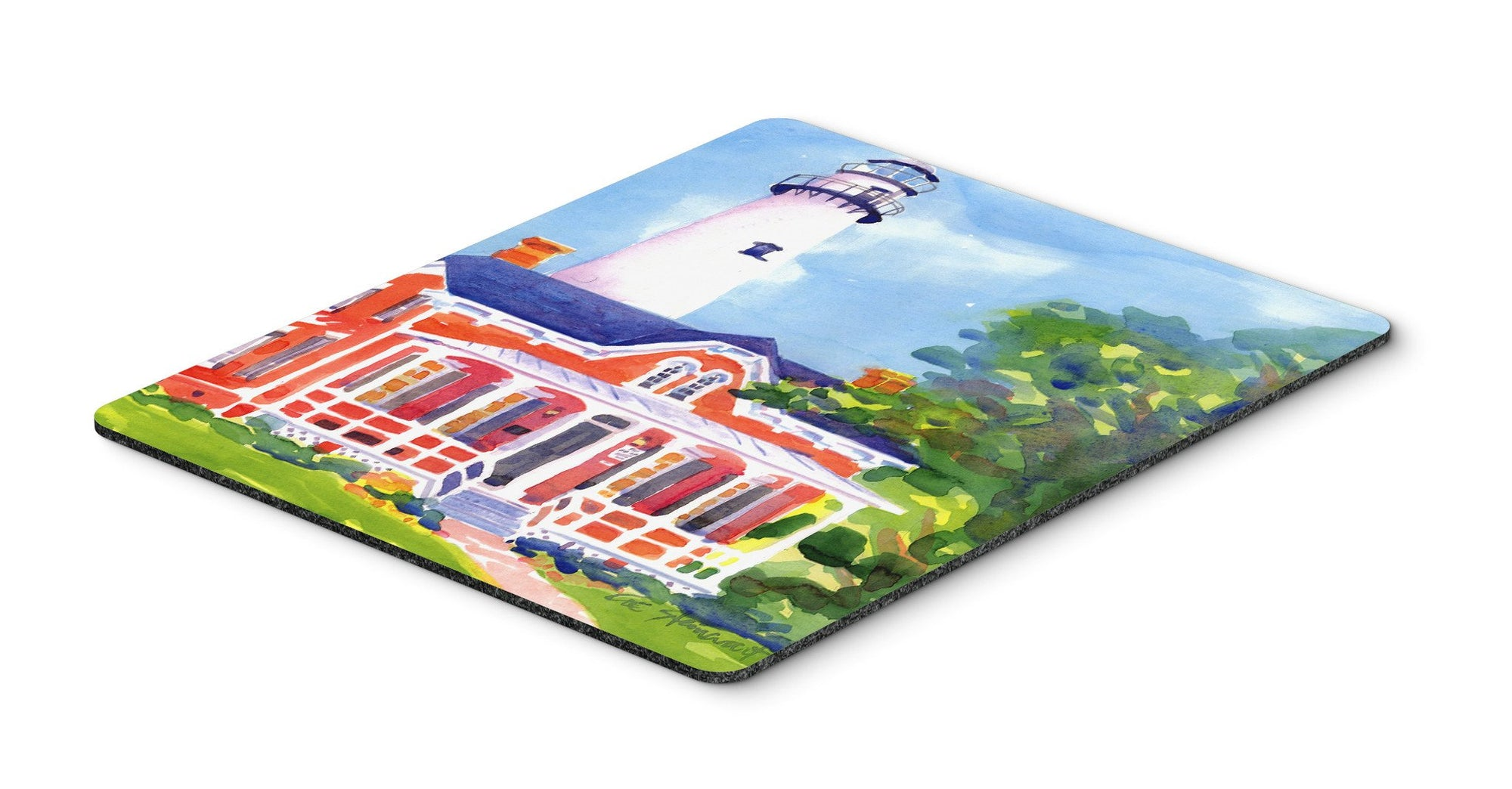 Lighthouse Mouse Pad, Hot Pad or Trivet by Caroline's Treasures