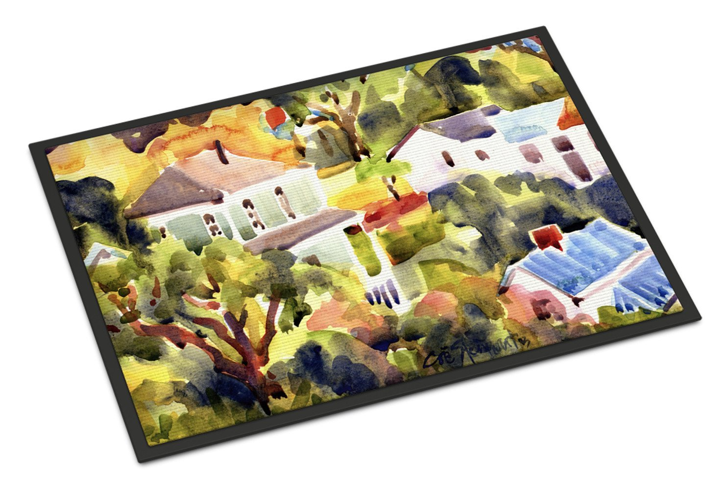 Houses Indoor or Outdoor Mat 18x27 Doormat - the-store.com