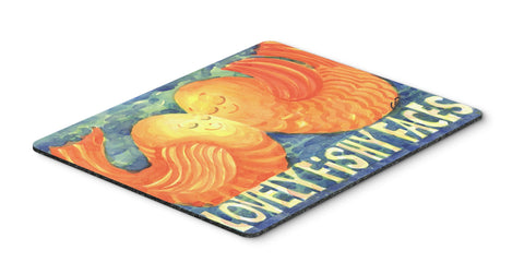 Buy this Fish - Kissing Fish Mouse pad, hot pad, or trivet