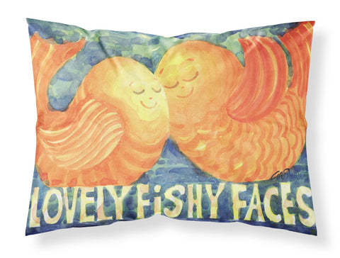 Buy this Fish - Kissing Fish Moisture wicking Fabric standard pillowcase