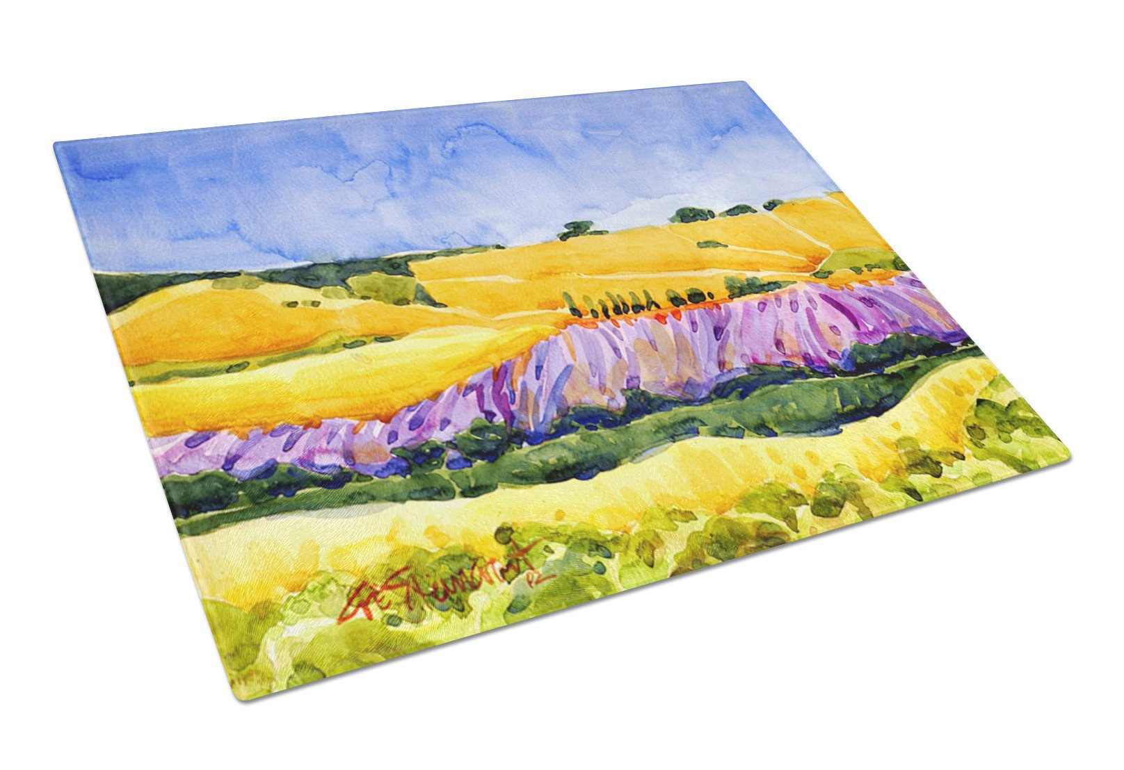 Buy this Landscape Glass Cutting Board Large