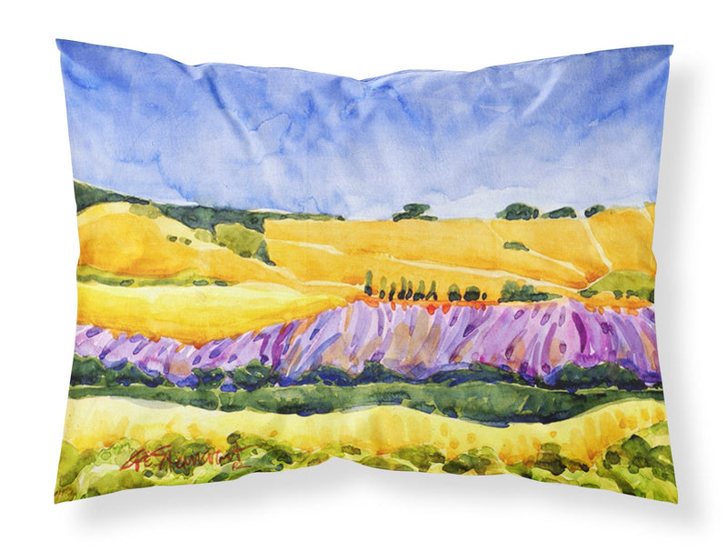 Landscape Moisture wicking Fabric standard pillowcase by Caroline's Treasures