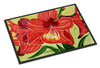 Flower - Amaryllis Indoor or Outdoor Mat 18x27 Doormat - the-store.com