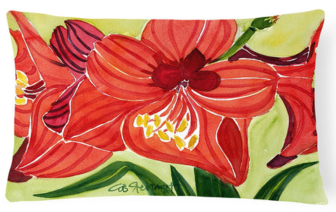 Buy this Flower - Amaryllis Decorative   Canvas Fabric Pillow