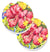 Buy this Flower - Hibiscus Set of 2 Cup Holder Car Coasters 6056CARC