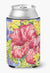 Flower - Hibiscus Can or Bottle Beverage Insulator Hugger by Caroline's Treasures