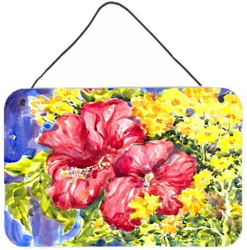 Buy this Flower - Hibiscus Indoor Aluminium Metal Wall or Door Hanging Prints