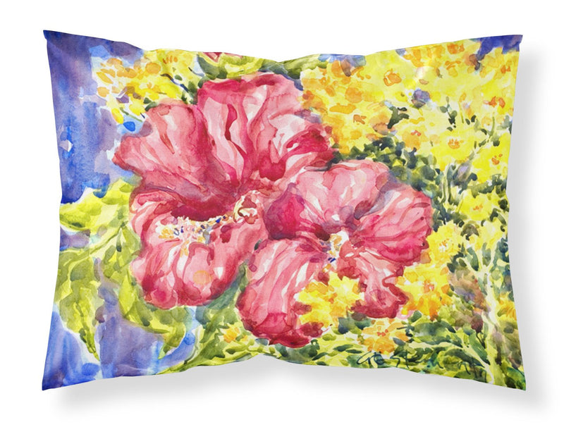 Buy this Flower - Hibiscus Moisture wicking Fabric standard pillowcase