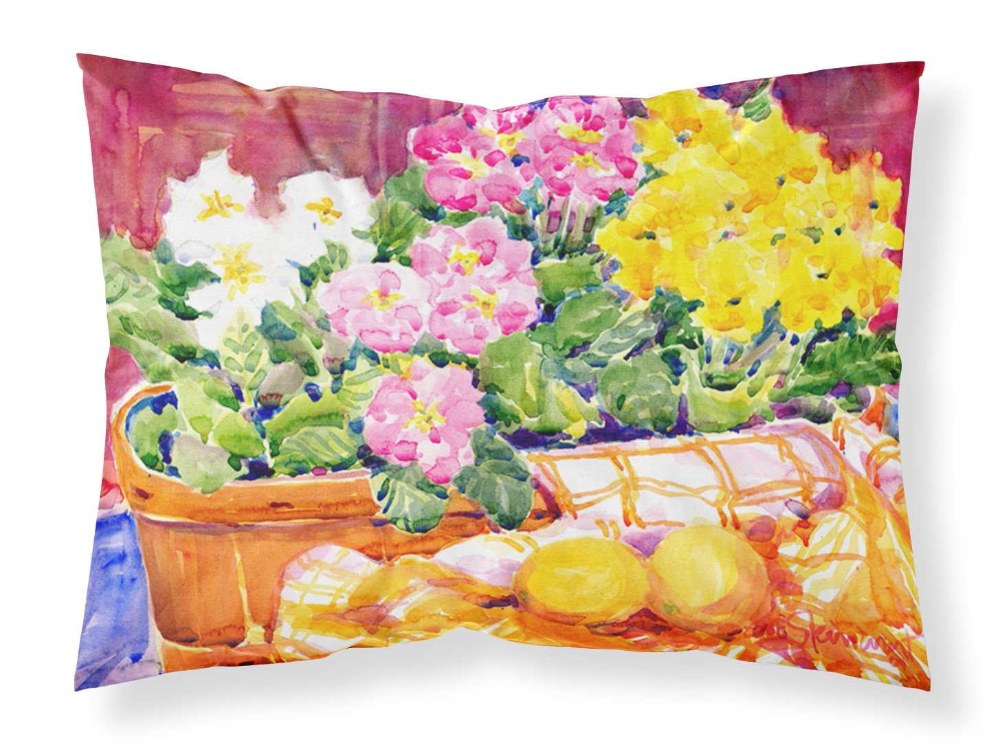 Buy this Flower - Primroses Moisture wicking Fabric standard pillowcase