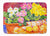 Buy this Flower - Primroses Machine Washable Memory Foam Mat 6061RUG