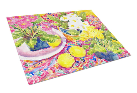 Buy this Flower - Primroses Glass Cutting Board Large