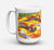 Buy this Golf Clubs Golfer Dishwasher Safe Microwavable Ceramic Coffee Mug 15 ounce 6063CM15