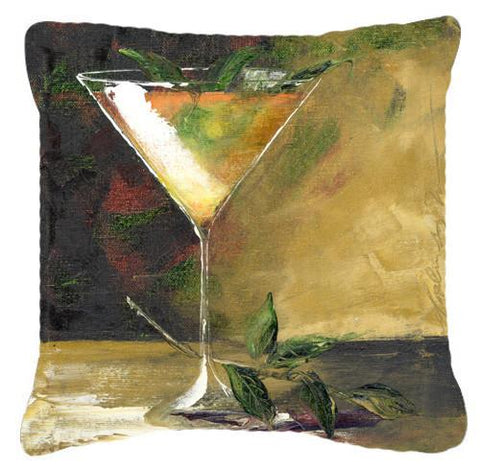 Buy this Stinger Martini by Malenda Trick Canvas Decorative Pillow TMTR0032PW1414