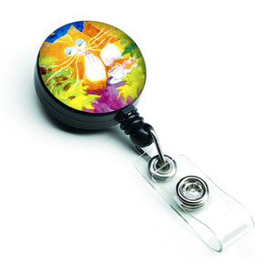 Buy this Cat Tea Time Retractable Badge Reel 6101BR