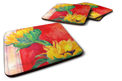 Buy this Set of 4 Flower - Sunflower Foam Coasters