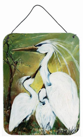 Buy this Blessing at Feeding Time Egret Family Wall or Door Hanging Prints MW1186DS1216