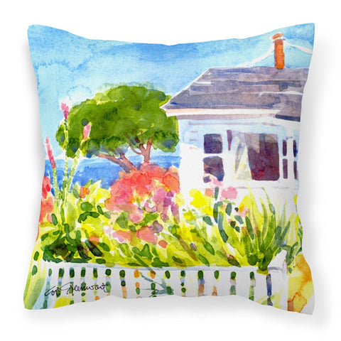 Houses Decorative   Canvas Fabric Pillow
