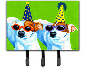 Buy this Party Animals Jack Russell Terriers Leash or Key Holder AMB1441TH68