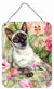 Buy this Siamese cat in the Roses Wall or Door Hanging Prints CDCO0033DS1216