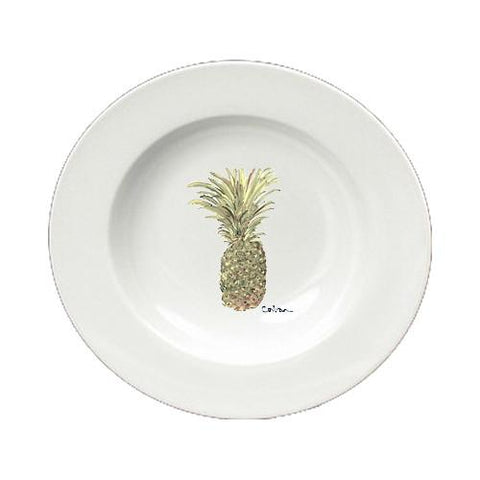 Buy this Pineapple  Ceramic - Bowl Round 8.25 inch 8654-SBW