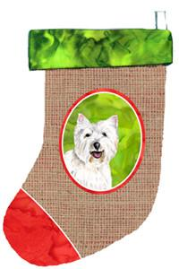 Westie Christmas Stocking SC1007 by Caroline's Treasures