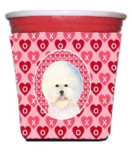 Buy this Bichon Frise  Red Solo Cup Beverage Insulator Hugger