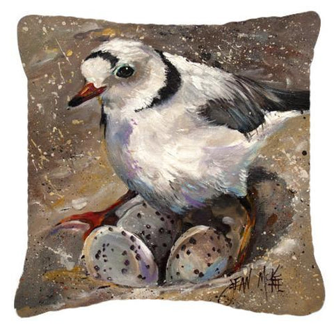 Buy this Piping Plover Canvas Fabric Decorative Pillow JMK1215PW1414