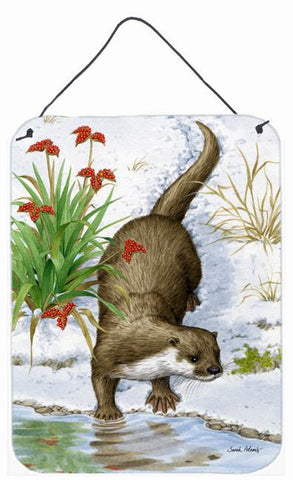Buy this Otter by the Water Wall or Door Hanging Prints ASA2048DS1216