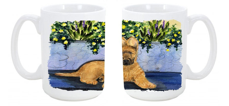 Buy this Briard Dishwasher Safe Microwavable Ceramic Coffee Mug 15 ounce SS8180CM15