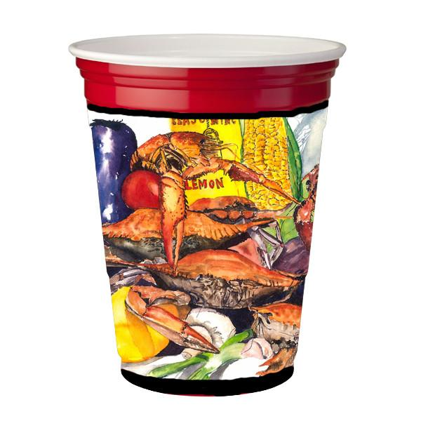 Buy this Veron's and Crabs Red Solo Cup Beverage Insulator Hugger