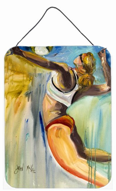 Beach Volleyball Wall or Door Hanging Prints JMK1178DS1216 by Caroline's Treasures