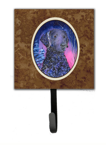 Buy this Starry Night Curly Coated Retriever Leash Holder or Key Hook