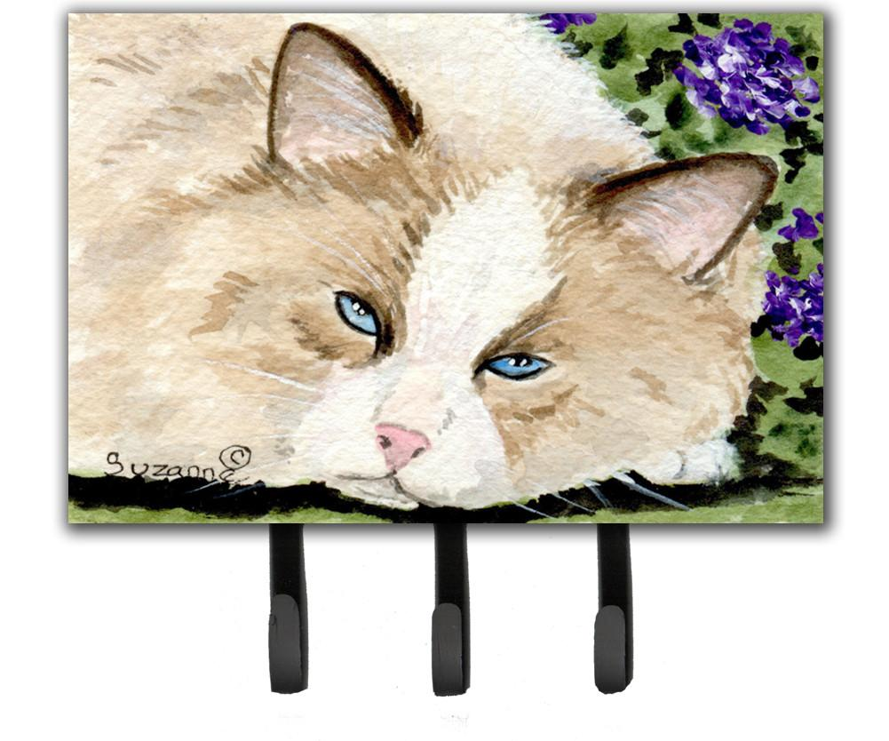 Cat Leash Holder or Key Hook by Caroline's Treasures