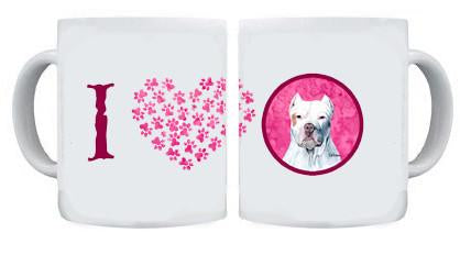 Buy this Pit Bull Dishwasher Safe Microwavable Ceramic Coffee Mug 15 ounce
