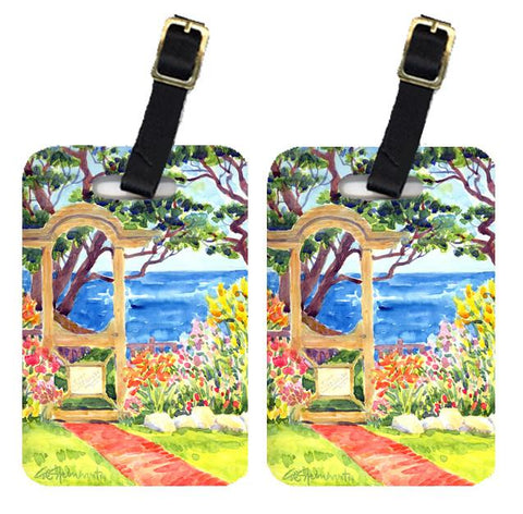 Buy this Pair of 2 Seaside Arbour Luggage Tags