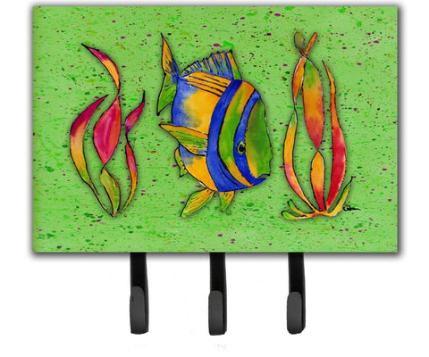 Buy this Tropical Fish on Green Leash or Key Holder