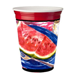 Buy this Watermelon Red Solo Cup Beverage Insulator Hugger