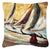 Boat Race Sailboats Canvas Fabric Decorative Pillow JMK1244PW1414 by Caroline's Treasures