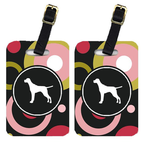 Buy this Pair of 2 Pointer Luggage Tags