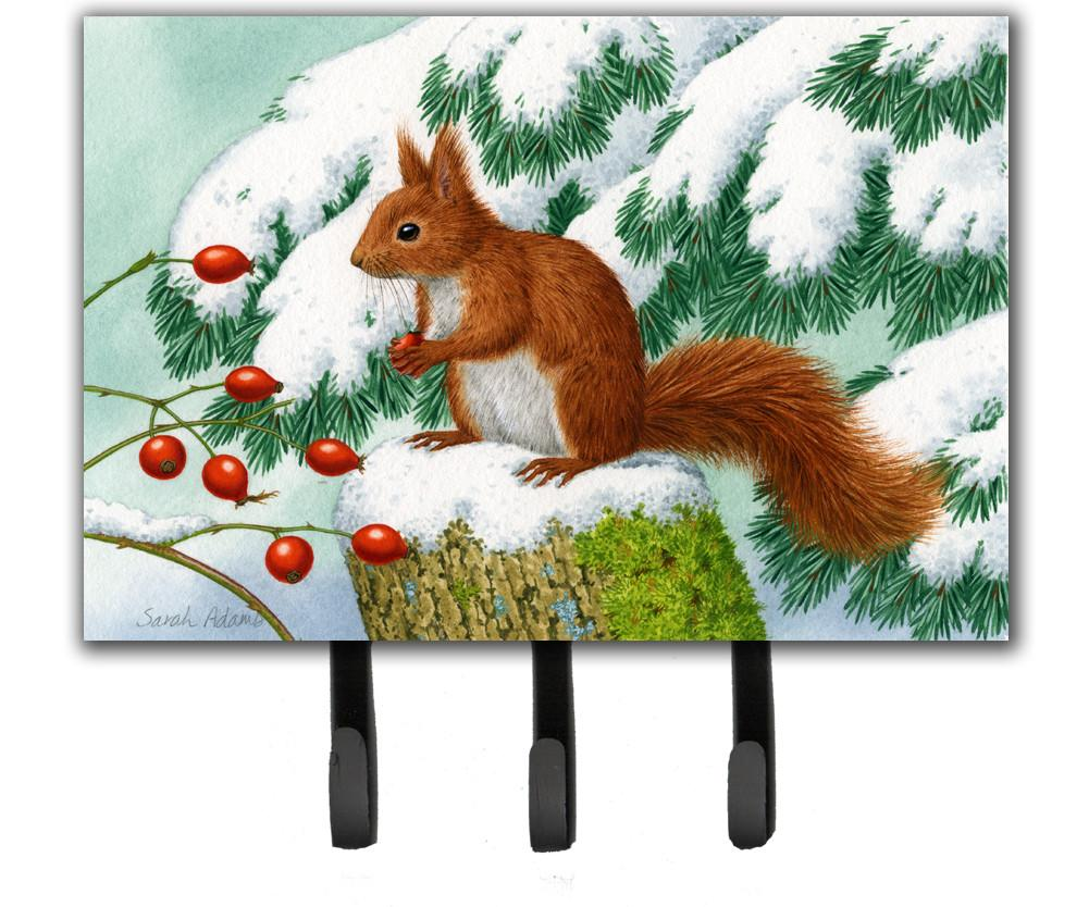 Buy this Winter Red Squirrel Leash or Key Holder ASA2172TH68