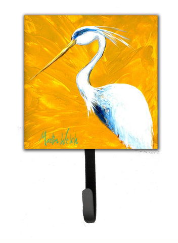 Buy this Bird - Blue Heron Col Mustard Leash or Key Holder