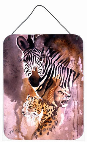 Buy this Cheetah, Lion, and Zebra Wall or Door Hanging Prints JMK1194DS1216
