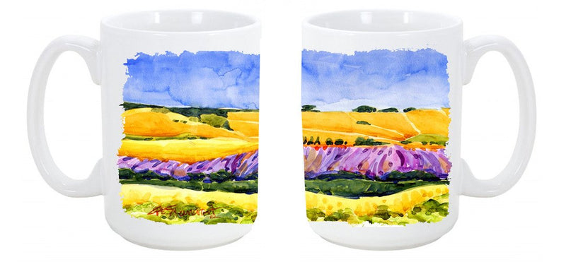 Buy this Landscape Dishwasher Safe Microwavable Ceramic Coffee Mug 15 ounce 6053CM15