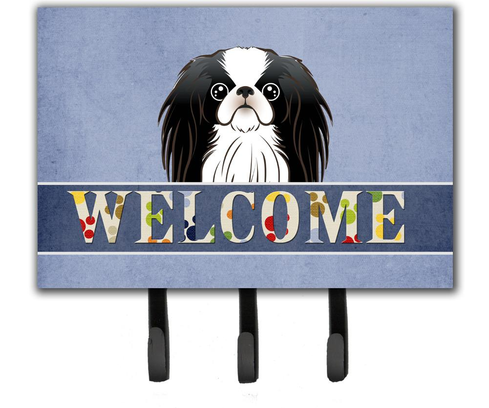 Japanese Chin Welcome Leash or Key Holder BB1416TH68 by Caroline's Treasures
