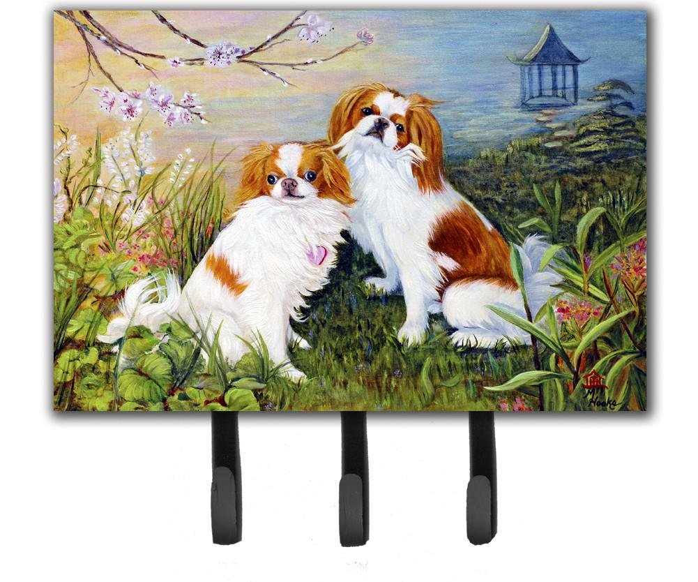Japanese Chin Wasabi and Ginger Leash or Key Holder MH1061TH68 by Caroline's Treasures